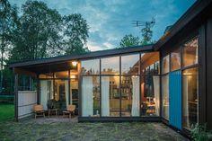 'Sundins villa', designed in 1959 in Hudiksvall. Designed by Greta Magnusson Grossmans.