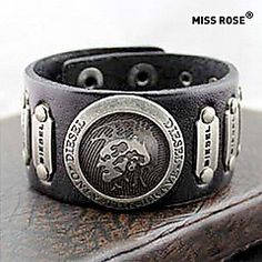 +Мисс+rose®+панк+25см+мужская+черная+кожа+с+золотой+сплав+ид...+–+RUB+p.+718,18