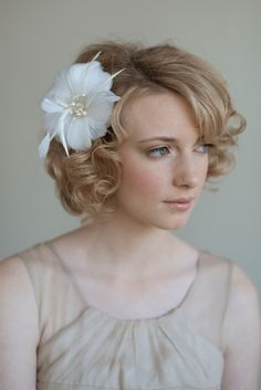cute vintage curly hair