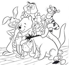 Cartoon Coloring Pages for Kids Collections