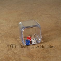 NEW Triple Six Sided Dice 3 in a cube 25mm 1 inch D6 RPG Game Die Math Koplow   #Dice