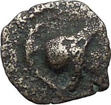 ANTIOCHOS VII Sidetes 138BC Ascalon Ancient ISRAEL Seleukid Greek Coin i56219