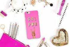 Total Girl, Always Thinking Of You, Boss Babe Quotes, Grl Pwr, Empowering Quotes, Book Girl, Boss Lady, Cute Designs, Tech Accessories