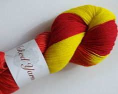 BFL (Bluefaced Leicester) Yarn - 100g Fingering Weight Hand Dyed