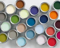 Blikken #verf in verschillende kleuren - Flexa -Akzo Nobel