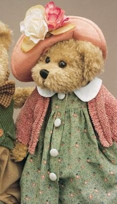 Bearington Bears...Ohhh! And the colors are perfect for me! ...Am in love!!! #bears #bearington
