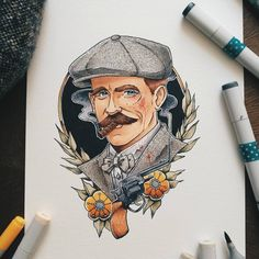For the love of Peaky Blinders. | By Benjamin Favrat