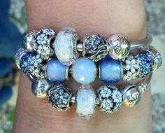 Blue and White stack for today, and I am pretty sure that I will never tire of…