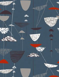 Ask Sarah Potter first right in the main hall if she has her usual batch of Lucienne Day fabrics