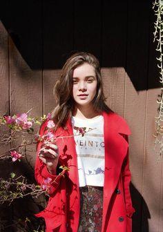 The ASOS Magazine November 2013 Photoshoot Stars Hailee Steinfeld #fall #fashion trendhunter.com