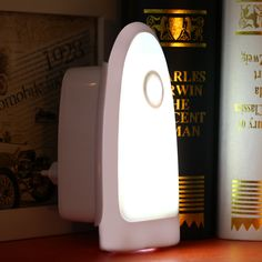 LED intelligent light-control  human body induction lamp Infrared  line wireless socket small night  rechargeable flashlight
