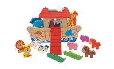 Cheeky Chops Shop  - Noahs Ark PLay Set, $52.90 (http://www.cheekychops.com.au/noahs-ark-play-set/)