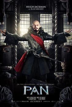 Pan - Hugh Jackman as Blackbeard