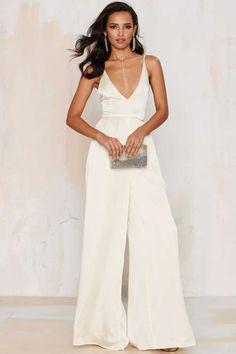 Nasty Gal Dakota Diamante Jumpsuit - Clothes | Rompers + Jumpsuits | Party Shop | Rompers + Jumpsuits