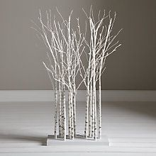 buy john lewis pre lit birch cluster from our christmas trees range at john lewis partners