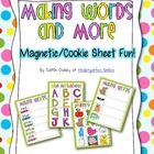 Students will use magnetic letters to spell words, practice beginning sounds, and complete an upper/lowercase letter matching activity.This is gr...