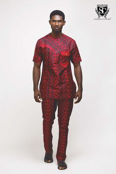 Sammies_Couture ~African fashion, Ankara, kitenge, African women dresses, African prints, African men's fashion, Nigerian style, Ghanaian fashion ~DKK