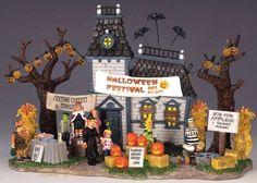Halloween village ~ Lemax
