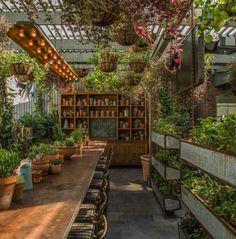 澳洲停車場改建的花園餐館 The Potting Shed - DECOmyplace 新聞