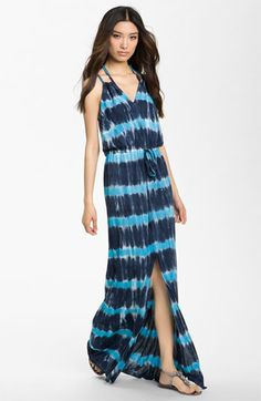 Young, Fabulous & Broke 'Violet' Ombré Maxi Dress available at Nordstrom