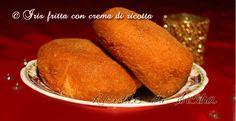 Un capolavoro della rosticceria siciliana. Uno scrigno morbido ripieno di crema di ricotta e cioccolato,e... Sontuosa!