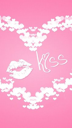 Love Wallpapers for iPhone 6 Plus – Poster Pink Kisses Wallpaper, Love Wallpaper, Valentine Wallpaper, Blowing Kisses, Love Backgrounds, Iphone 6 Wallpaper, Lip Art, Pink Candy, Pretty In Pink
