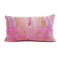 Tansy Hmong Lumbar Pillow USD$185 from Furbish