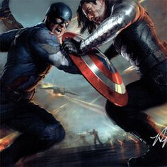 Captain America, Winter Soldier by Ryan Meinerding