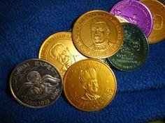 Vintage Mardi Gras Coins Tokens Doubloons New by CastlesCornerShop