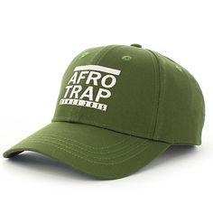 MHD - Casquette de Baseball Afro Trap Kaki - LaBoutiqueOfficielle.com