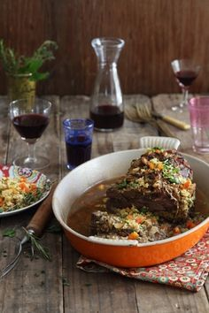 Slow Roasted Shoulder of Lamb Stuffed with Moroccan Spiced Couscous with turmeric blends. Lamb Recipes, Slow Cooker Recipes, Cooking Recipes, South African Recipes, Ethnic Recipes, Moroccan Couscous, Lamb Skewers, Lamb Ribs, Slow Cooked Lamb