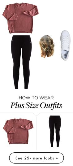 """""""ehh."""" by meli-yadira on Polyvore featuring adidas"""