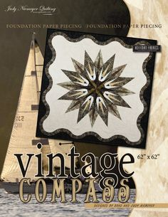 Vintage Compass Pattern found at Canton Village Quilt Works. Looks like fun!