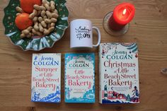 Bookish Thoughts on the Little Beach Street Bakery Books by Jenny Colgan - UnwrappedDreams Books To Read, Bakery, Thoughts, Street, Beach, Christmas, Xmas, The Beach, Bakery Business