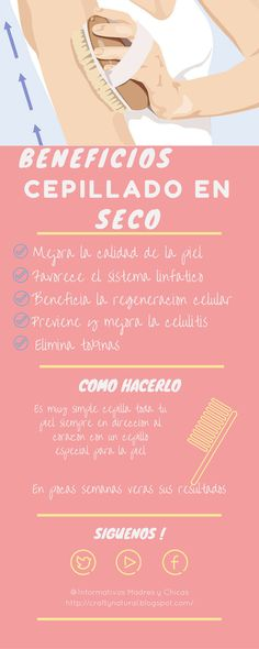 HEALTHY and CRAFTY: BENEFICIOS DEL CEPILLADO EN SECO PARA LA SALUD