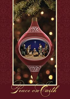 the office ornaments. nativity ornament holiday greeting cards within a beautiful scene sends the office ornaments