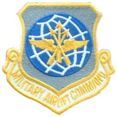 """U.S. Air Force Military Airlift Command Patch 3"""" . $8.99. This is a new U.S. Air…"""