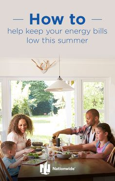 Figuring out how to lower electric bills in the summer can be difficult, especially when temperatures are at their hottest. Luckily, there are a few ways you can save on your electric bill during the summer months. Try these 7 summer energy-saving tips from Nationwide. Click to learn more.