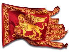 Questa bandiera ha 1200 anni di storia gloriosa. Rispettata in tutto il mondo come simbolo di libertà e di potere della Serenissima Repubblica di Venezia.  È stata oscurata volutamente dal tricolera simbolo di tutte le nefandezze che in 149 anni sono state fatte all'ombra dei suoi colori.  Rispetta la storia e non portare questa nostra bandiera a Bologna o da altre parti dove ci saranno bandiere di finti popoli o peggio ancora dove ci sono ancora partiti che si rifanno all'unità... Framed Canvas Prints, Canvas Frame, Lion Tattoo, Military History, Venice Italy, Narnia, No One Loves Me, Female Bodies, Wings