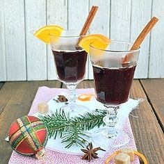 Hot Christmas wine (recipe in Czech)