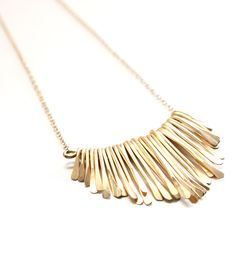 Sun Chime Gold Hammered Necklace | Jewelry Necklaces | Sara Patino Jewelry | Scoutmob Shoppe | Product Detail
