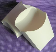 25 plain white Paper French Fry Container. by WrapupthePartyShop, $5.00