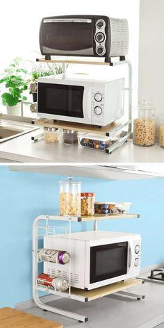 ⚜ 34 Cuisine Et Rangement Diy Kitchen Storage, Cupboard Storage, Kitchen Items, Diy Storage, Home Decor Kitchen, Rustic Kitchen, Kitchen Furniture, Rustic Furniture, Kitchen Gadgets