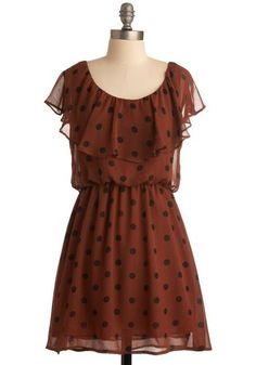 Dot You Worry Dress