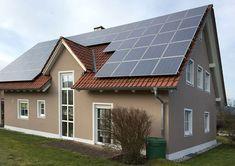 Sun Panels, Solar Panels, Facade, Colors, Outdoor Decor, Home Decor, Decoration Home, Solar Power Panels, Solar Power Panels