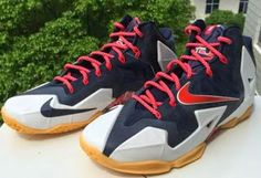 432bdc1024e7 THE SNEAKER ADDICT  Nike LeBron 11 USA 4th Of July Sneaker Available N..