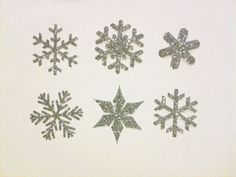FROZEN Glitter Snowflake Theme Appliques Happy by HappyPatches, $12.00