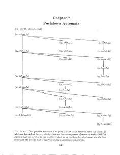 Theory of Computation: Chapter - 7 Pushdown Automata Solution Theory Of Computation, Different Programming Languages, Automata, Sheet Music, Music Sheets