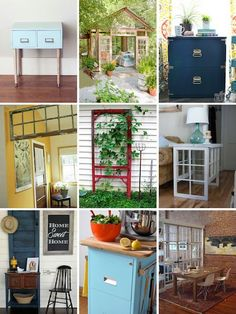 Roundup: 20 DIY Projects Using Reclaimed Materials