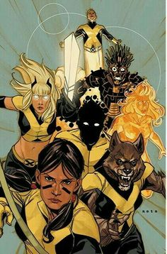 The New Mutants By Phil Noto